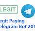 Legit Paying Telegram Bot 2018