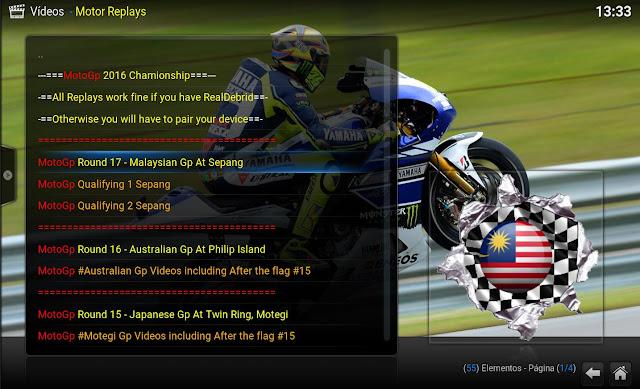 MOTOR REPLAYS 1.0.3 - ADDON KODI
