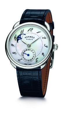 Hermès Arceau Petite Lune watch