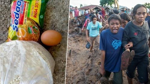 Kesal Dapat Bantuan 1 Butir Telur dan Sebungkus Mi Instan, Korban Bencana NTT: Ini Lelucon, Kami Dihina