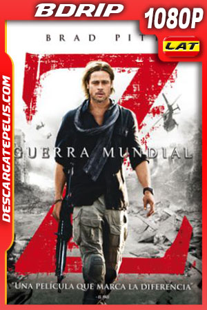 Guerra mundial Z (2013) Unrated Cut 1080p BDrip Latino – Ingles