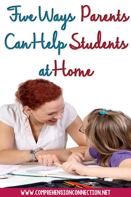 Parents are children's first teachers, and in this post, you will read about five things parents can do to support learning at home. Freebies included.