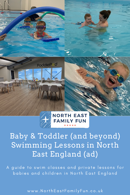 Baby & Toddler (and beyond) Swimming Lessons in North East England