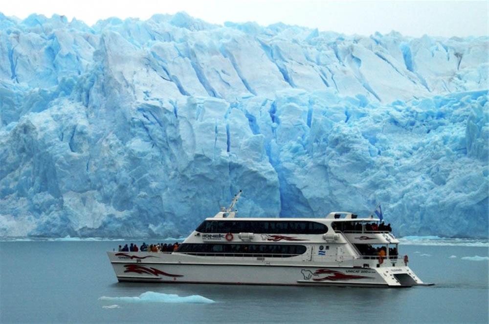 C4 Mapa Na Neve E Modo Noturno: Glaciar Perito Moreno - Argentina