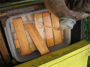 Συνταγή σιροπιού τροφοδοσίας απο έναν Αμερικανό μελισσοκόμο