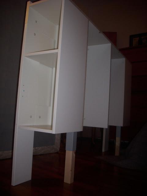 free standing brimnes headboard for renters ikea hackers ikea hackers. Black Bedroom Furniture Sets. Home Design Ideas