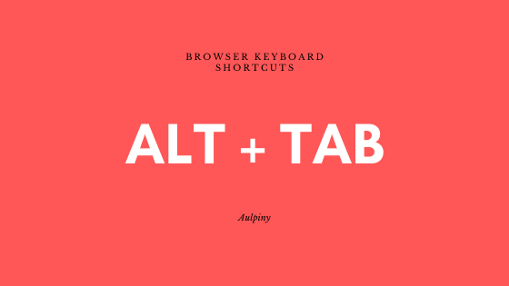 Switch Between Browser Tabs