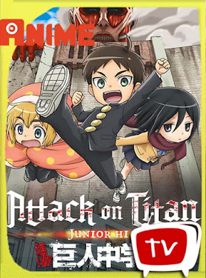 Ataque a los titanes : Junior High​ HD BDrip [1080P-x265] Castellano-Ingles-Japones [GoogleDrive] DizonHD