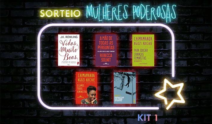 Sorteio Dia da Mulher: concorra a livros escritos por mulheres