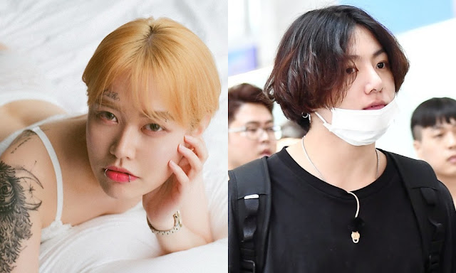 What do you think about the reaction of South Korean netizens after seeing a photo of Jungkook BTS while hugging a woman?