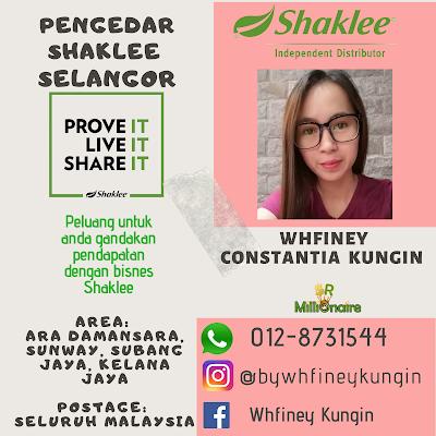 Pengedar Shaklee Selangor 0128731544