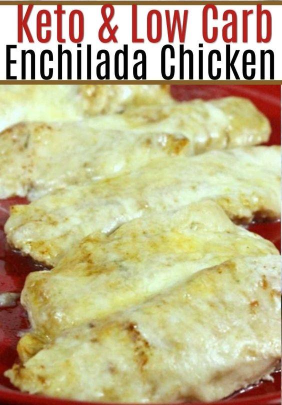 Easy Baked Enchilada Chicken Recipe