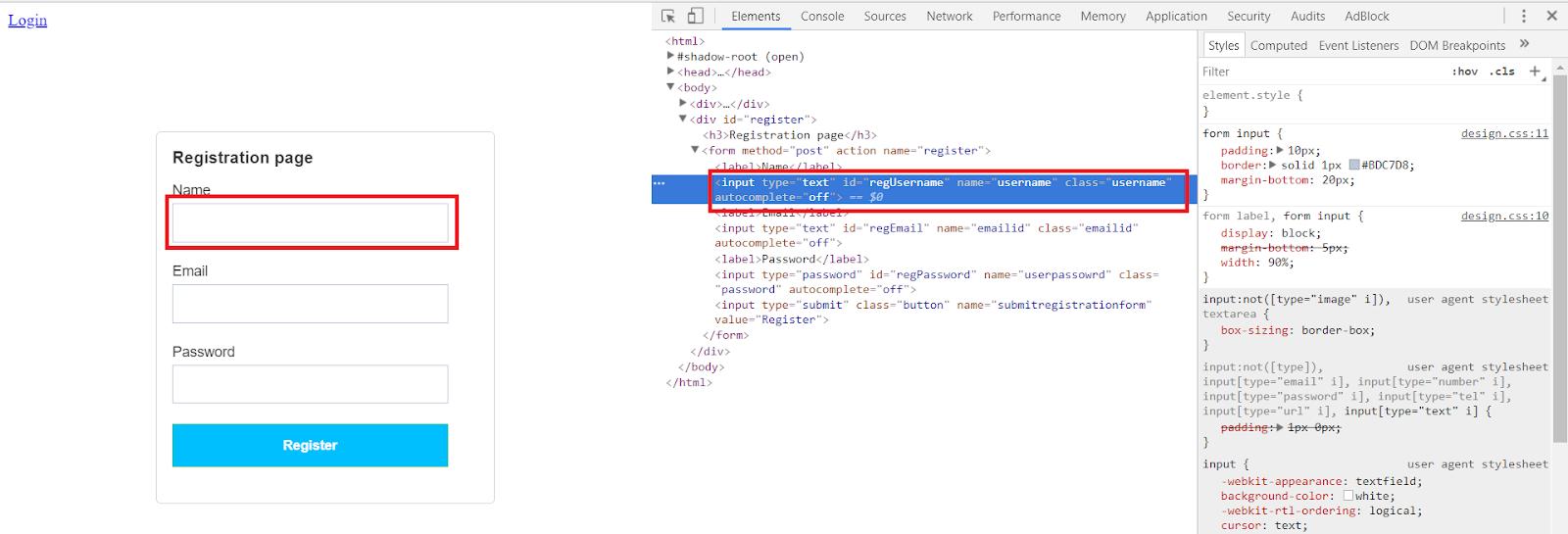 CSS Selectors in Selenium WebDriver with Examples   SKPTRICKS