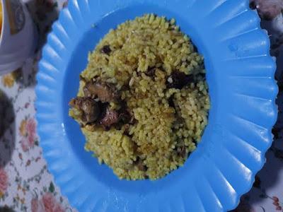 مكونات وطريقة تحضير أرز بالكبد و القوانص