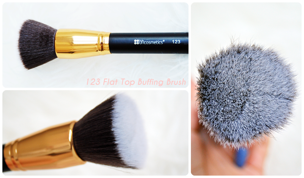 123 Flat Top Buffing Brush
