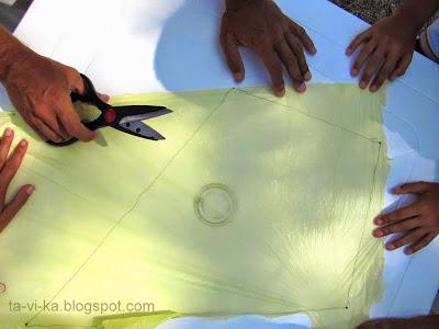 как сделать воздушного змея МК