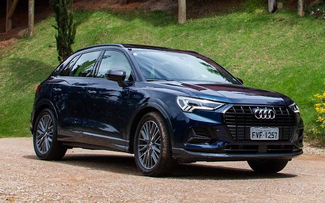 Novo Audi Q3 2020 (Brasil) - Azul