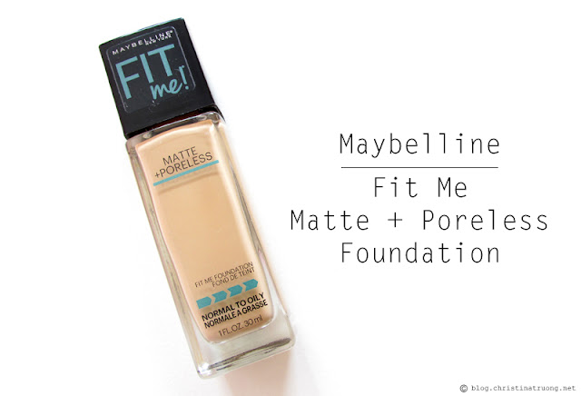 Maybelline Fit Me Matte + Poreless Foundation Review in 128 Warm Nude