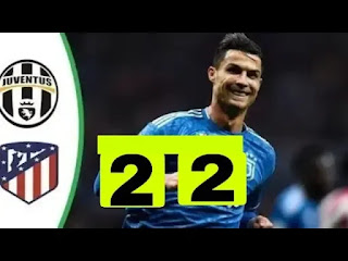 Atletico Madrid Vs Juventus 2-2 All Goals And Match Highlights [MP4 & HD VIDEO]