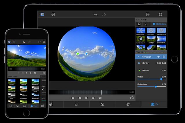 تطبيق LumaFX للآيفون والآيباد لتعديل الفيديو
