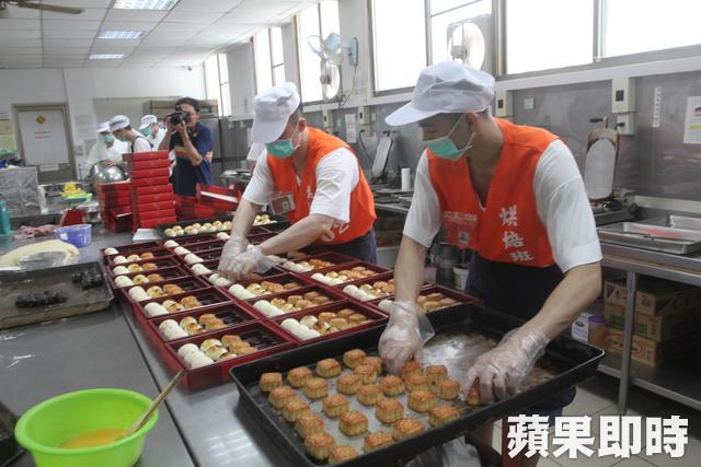 虎尾-雲林第二監獄烘焙班的月餅/麻糬 便宜又好吃