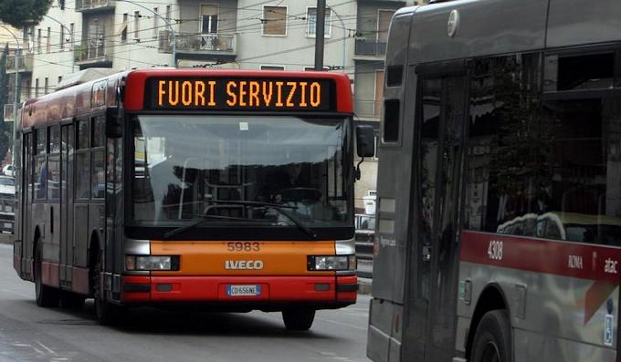 Roma: Lunedì 24 sciopero dei mezzi pubblici