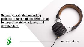 submit digital marketing podcast