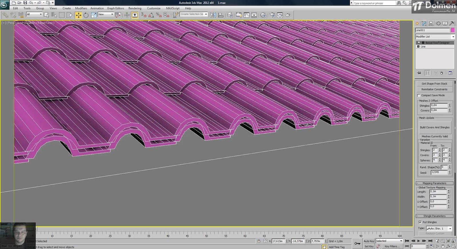 Batzal roof 1 4 6 for 3dsmax 2009 2013 32 or 64 bit unmisoft for Online roof design tool