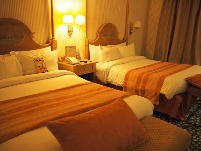 Disneyland Hotel Zimmer