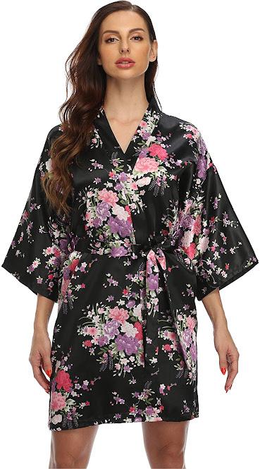 Cheap Satin Robes For Women