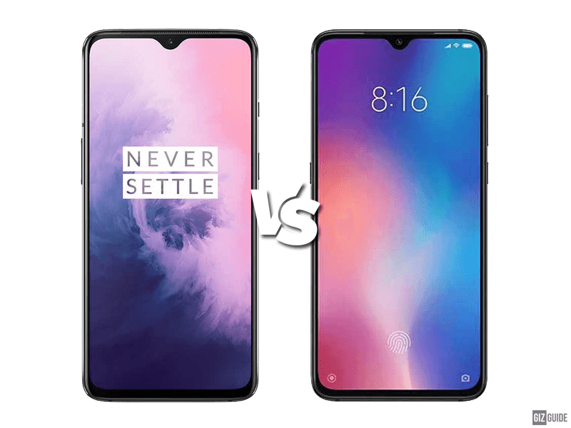 OnePlus 7 vs Xiaomi Mi 9 Specs Comparison