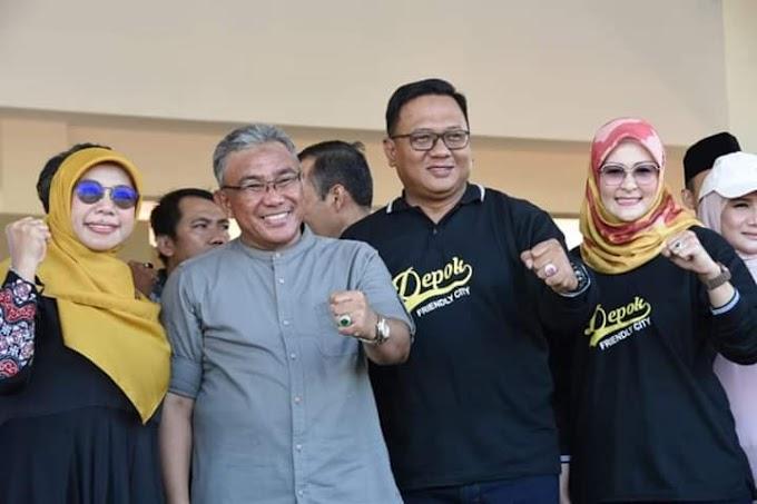 Walikota Imbau Masyarakat Jaga dan Rawat Fasilitas Alun alun Depok