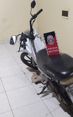 Polícia agi rápido e recupera moto furtada em Monteiro