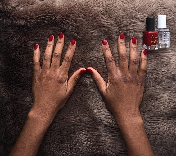 And Neutral Shades Out There Will See These Pictures That They Too Can Try A Bright Bold Manicure Not To Be Afraid Of Wearing Red