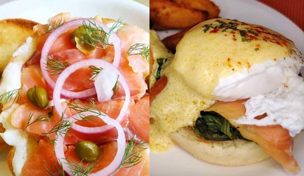 Bacolod restaurants - Cafe Elgon- Bacolod blogger - list of Bacolod restaurants - Where to eat in Bacolod - salmon gravlax on bagel - eggs benedict