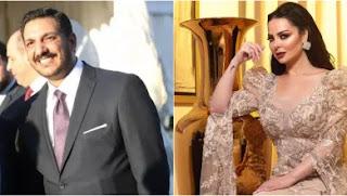 زواج الفنانة ديانا كرزون من معاذ العمري وتعتذر لمحبيها