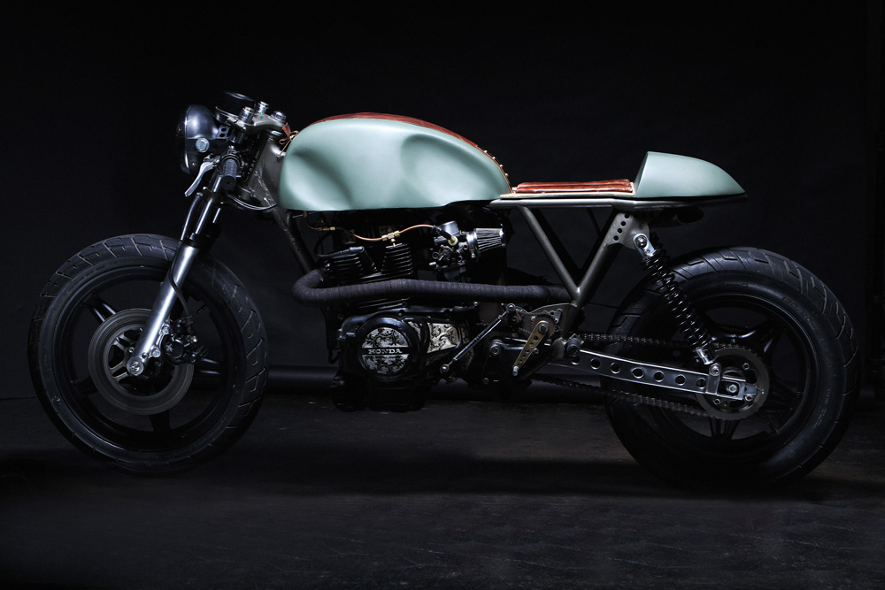 honda cm400 cafe racer ~ return of the cafe racers
