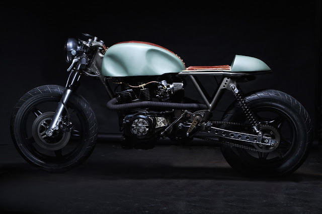 1981 Honda CM400 by Retro Moto - featured on Return of the Cafe Racer