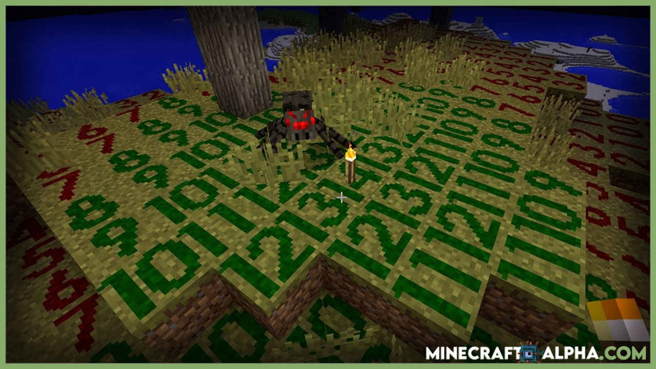 Minecraft Torch Optimizer Mod 1.17.1 (Torch Placement Indicator)