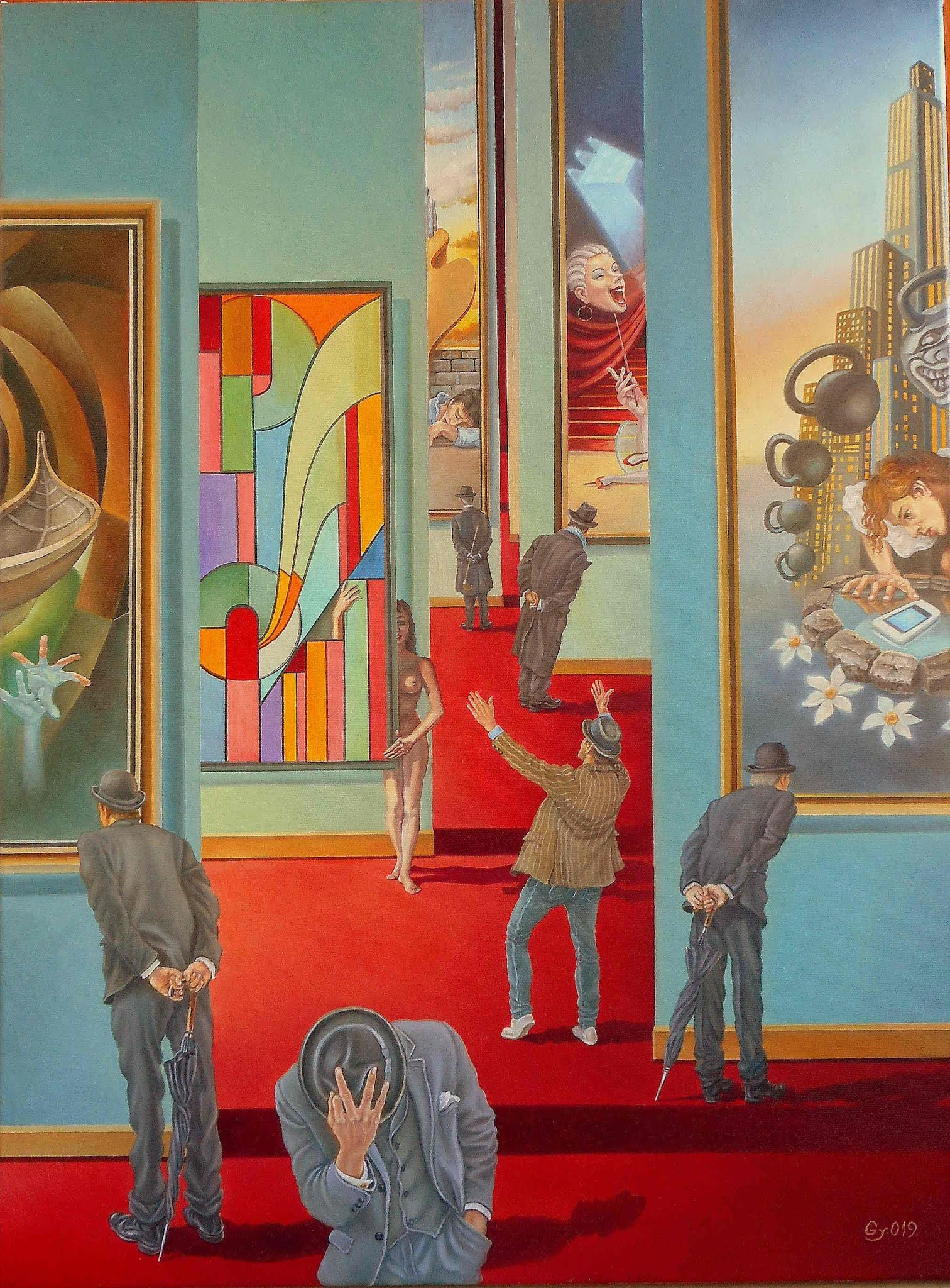 Paintings by Romanian Artist  - GYURI LOHMULLER