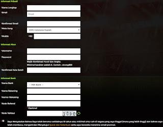 Sangat mudah untuk kamu yang mau Daftar Akun IDN Poker disini. Kamu hanya perlu memenuhi beberapa persyaratan sebelum melakukan daftar yaitu Kamu Telah berumur +18 Tahun dan Mengerti serta menyetujui Syarat & Ketentuan yang berlaku dari website kami. Berikut adalah Informasi Pribadi kamu yang kami butuhkan untuk membuat User ID Akun IDN Poker Anda Di Bintang88