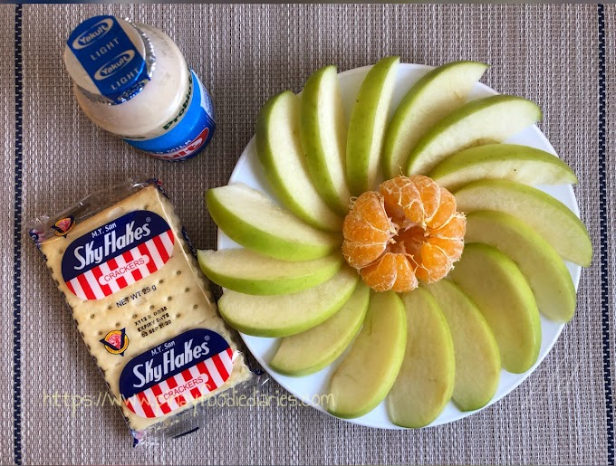 Shutter Delights | Fruits, Crackers and Yakult for a Healthy Breakfast