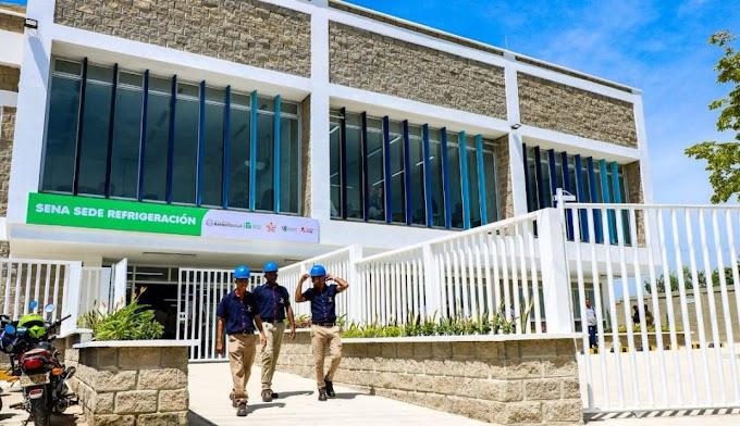 La arenosa contará con tres nuevas sedes del SENA
