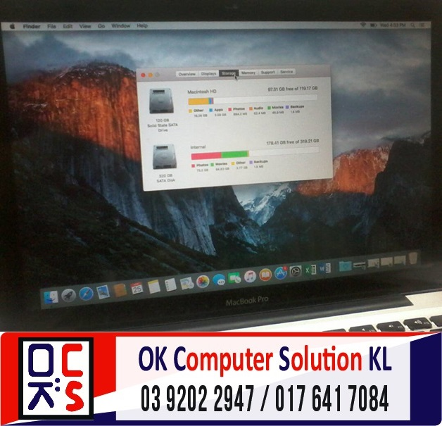 [SOLVED] UPGRADE SSD MACBOOK PRO A1278 | REPAIR MAC AMPANG 2