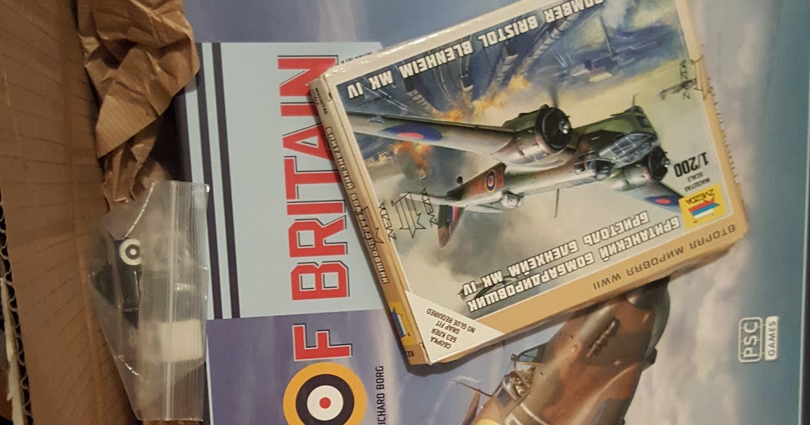A Wargaming Gallimaufry: Battle of Britain arrives