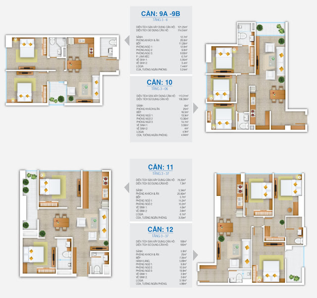 Thiết kế căn hộ FLC Star Tower