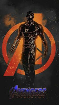 Avengers: Endgame iron man posters dark mark39