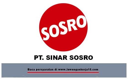 lowongan PT Sinar sosro