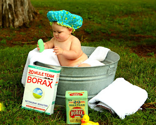 Image: Beautiful baby in galvanized tub, by S.K.Dickerson on Pixabay