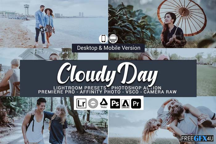 Cloudy Day Lightroom Presets